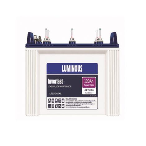 LUMINOUS ILT15048 120Ah INVERTER BATTERY CHENNAI