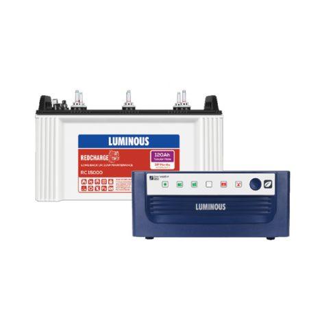 Luminous Eco Watt +850 + Red Charge RC 15000
