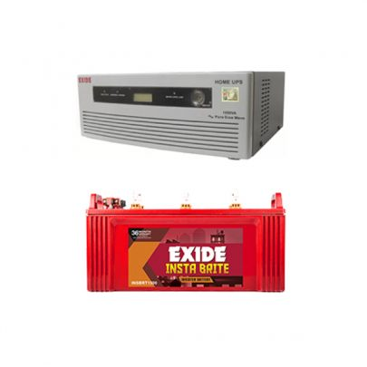 Exide 1050VA Home Inverter UPS And Inva Tubular 150AH Battery Combo