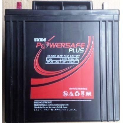 Exide PowerSafe Plus SMF 12V 26Ah Battery