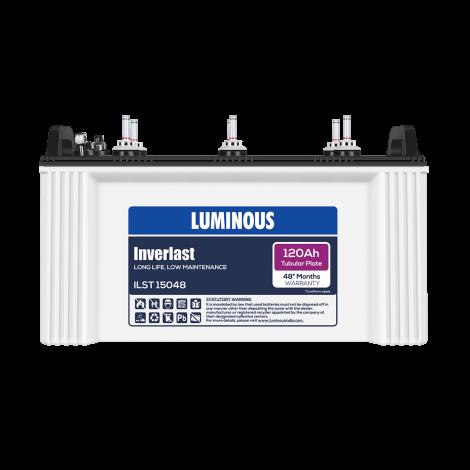 LUMINOUS INVERLAST – ILST 15048 120Ah TUBULAR BATTERY