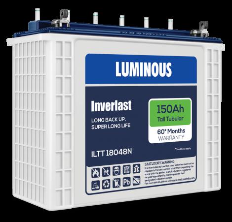 LUMINOUS INVERLAST-ILTT 18048N 150Ah TUBULAR BATTERY