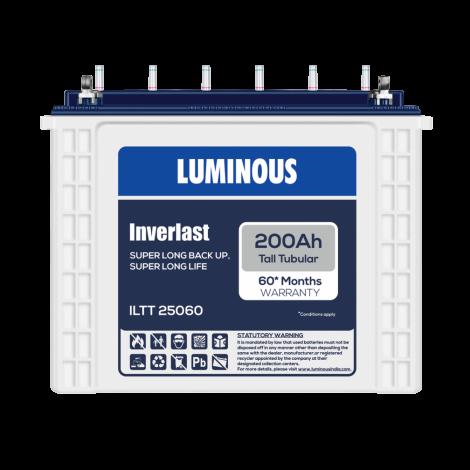 LUMINOUS INVERLAST-ILTT 25060 200Ah TUBULAR BATTERY