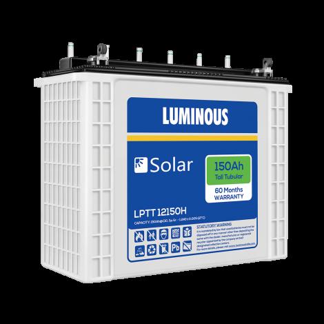 LUMINOUS SOLAR 150Ah BATTERY - LPTT 12150H