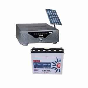 Microtek Solar Home UPS 850VA With 150AH Solar Battery (150W *2) Poly Crystalline Solar Panel