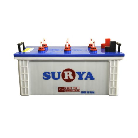 Surya 6SSPT150 150Ah Flat Battery