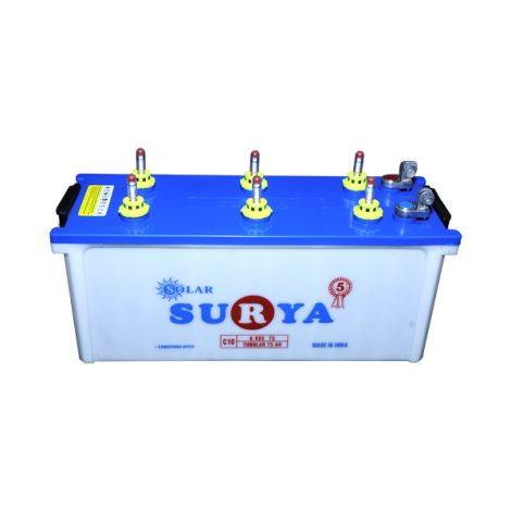 Surya 6SSS75 75AH Solar Battery